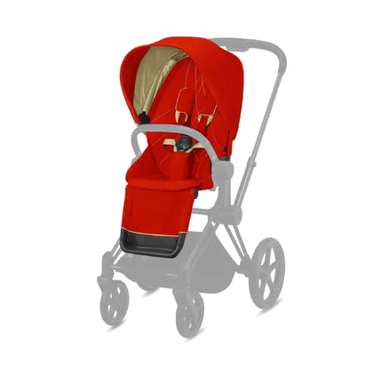 Cybex Platinum Priam Seat Pack -  * With the Priam seat pack, you can add a personal touch to the stylish pushchair. You can change the look of your Priam at any time and whenever you wish to.