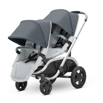 Quinny Double Stroller Hubb Duo Graphit on Grey 2019 - large image