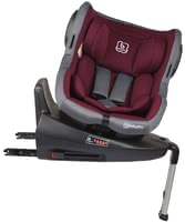 BabyGO Child Car Seat ISO 360 -  * The BabyGO ISO 360 comes with built-in sun canopy and provides little travellers from birth up to about 4 years with a high level of comfort.