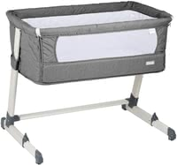 BabyGo Bedside Cot Together -  * Proximity and security are, among others, the most important prerequisites for a healthy child. In order to meet these needs during the night, BabyGO Together offers your little one a cosy place to sleep right by your side.