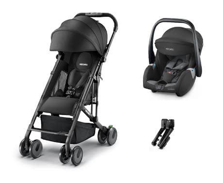 Recaro Buggy Easylife Elite + Infant Car Seat Guardia -  * The Recaro Buggy Easylife is the ideal companion in everyday life with an infant. With a low weight of only 6 kg, as well as its compact folding size, the buggy can be stored quickly so that transporting it is as easy as possible for you.