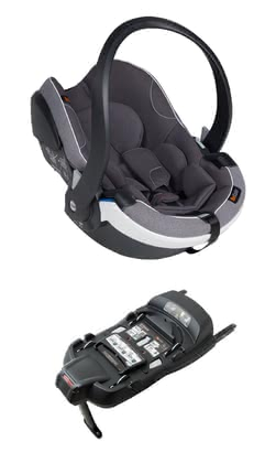 BeSafe Baby Seat iZi Go Modular X1 i-Size incl. Base -  * The iZi Modular concept by BeSafe makes your active family life easier and saves a lot of time. Stage 1 of this clever system comes with an i-Size ISOFIX base and the new, updated infant car seat iZo Go X1.