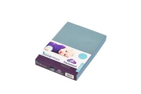 Träumeland Fitted Sheet Tencel 40 x 90 cm -  * A fitted sheet stands out as an essential accessory for complementing your baby's sleeping place. The high-quality workmanship of the Träumeland fitted sheet convinces everybody immediately.