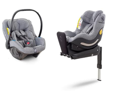 Avionaut Pixel-AeroFIX Modular Set -  * Safety from the first day of life! The Avionaut Modular Set which comes with the infant car seat Pixel, the child car seat AeroFIX and the matching IQ-Base provides safety in a rear-facing mode right from the beginning.