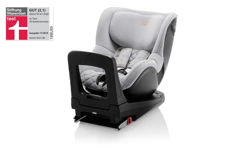 Britax Römer Kindersitz Dualfix M i-Size – Special Edition Nordic Grey -  * The child safety seat Dualfix M i-Size is approved for being used for children with a body height between 61 cm and 105 cm and thus stands out as the ideal child car seat that follows an infant car seat.