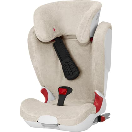 Britax Römer Summer Cover for Kidfix 2 / Kidfix II XP (Sict) -  * The Britax Römer summer cover can be pulled over the regular cover in a quick an easy way, and prevents your little passenger from sweating too quickly.