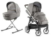 Inglesina Pushchair Aptica – Kit System Duo -  * The distinctive glamorous style of this pushchair will delight trend-conscious and modern parents immediately. The Aptica is not only a sporty companion, it also scores with convenient handling and plenty of comfort for your tiny human.