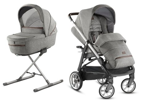 Inglesina Pushchair Aptica – Kit System Duo Mineral Grey 2020 - large image