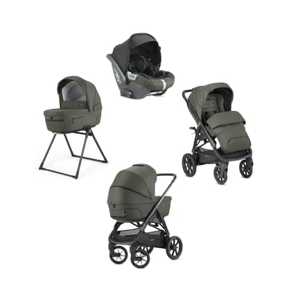 "Inglesina Aptica XT System Quattro Darwin -  * The large ""Adaptive Cruise"" wheels of the Inglesina Aptica XT adapt to any terrain and to the weight of your growing child alike, and thus, they guarantee maximum wellbeing wherever you are."