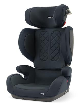 Recaro Child Car Seat Mako -  * The Recaro child car seat Mako is suitable for little explorers from a body height of 100 to 150 cm and stands out as the perfect second car seat. Innovative seat foam from the automotive industry makes the car seat a comfortable and safe travel companion.