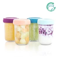 Babymoov Babybols Made of Glass, 4 Pieces -  * Are you looking for the perfect solution to store your baby's food? Then, you are absolutely right here! The Babymoov glass Babybols storage set offers you the most convenient way, to keep your little one's food fresh.