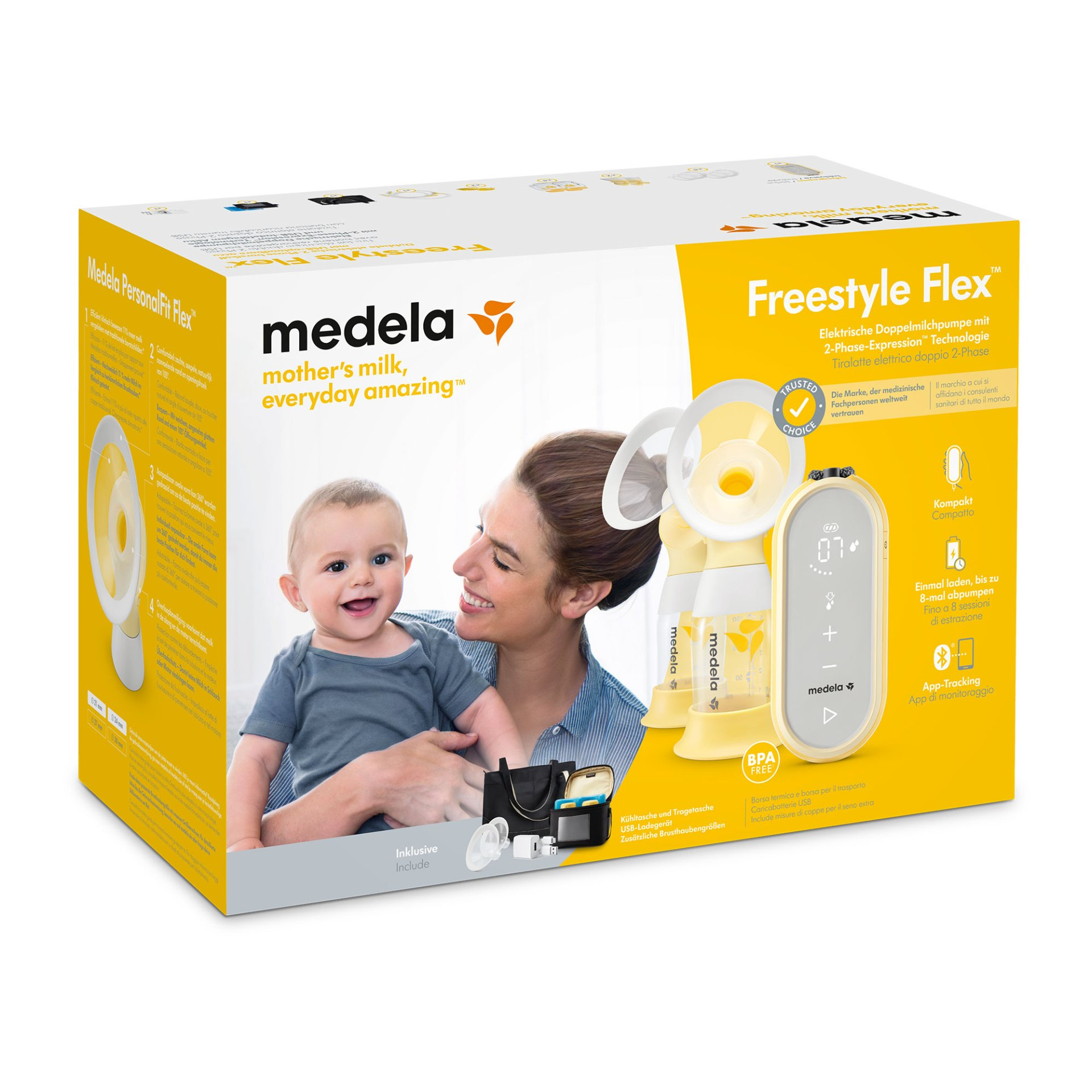 Medela Double Electric Breast Pump Freestyle Flex Buy At
