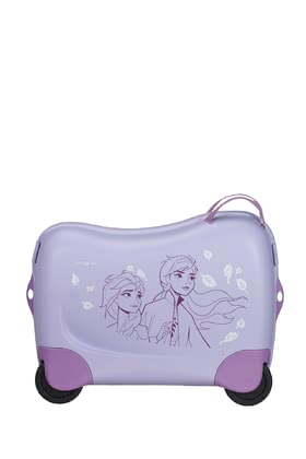 "Dreamrider by Samsonite Disney Frozen 2 -  * The bright coloured kids' suitcase Dreamrider by Samsonite will turn every trip into an exciting and fun adventure for your little one. This brand-new collection features ""Frozen 2"" and comes with cute child-appropriate motifs that will delight all little Disney fans out there immediately."