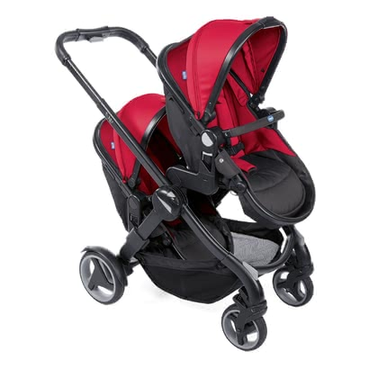 Chicco Double Stroller Fully Twin -  * The Fully Twin double stroller by Chicco is versatile, comfortable and suitable for any terrain. It's the perfect stroller for parents who are looking for a simple and intuitive solution in the turbulent everyday life with twins.