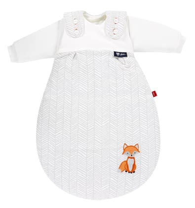 s.Oliver by Alvi Baby-Mäxchen® Ganzjahresschlafsack 3-tlg. Fuchs - Who ever says sleeping bag, thinks baby girl®!