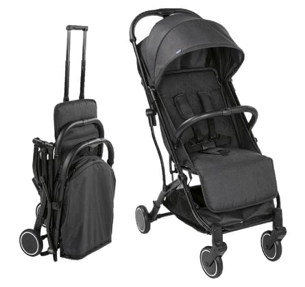 Chicco Buggy Trolley Me -  * A practical pushchair which you can easily full and pull just like a spinner – that's the new Chicco Trolley Me.