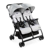 Chicco Double Buggy OHlalà Twin -  * Twice the lightness, twice the comfort: the OHlalà Twin is Chicco's new ultra-light and ultra-compact double buggy perfect for your two little bundles of joy.