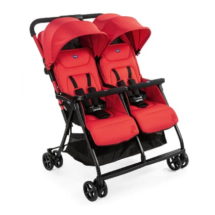 Chicco Double Buggy OHlalà Twin Paprika 2020 - large image