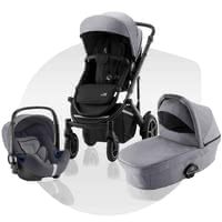 Britax Römer Stroller SMILE III – Comfort Bundle -  * A stroller for every occasion – the Britax Römer stroller SMILE III is the perfect all-round companion for your and your child.