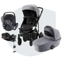 Britax Römer Stroller SMILE III – Comfort Plus Bundle -  * A stroller for every occasion – the Britax Römer stroller SMILE III is the perfect all-round companion for your and your child.