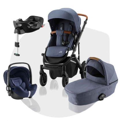 Britax Römer Kinderwagen SMILE III – Comfort Plus Bundle - A car for all occasions – the Britax Römer stroller SMILE III is the perfect all-rounder and offers you as a Comfort Plus Bundle the most diverse combina...