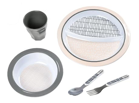 Béaba Meal Set – Gift Set -  * There is nothing better than enjoying every bite of one's meal! With the adorable Béaba meal set, your child is well equipped for every mealtime.