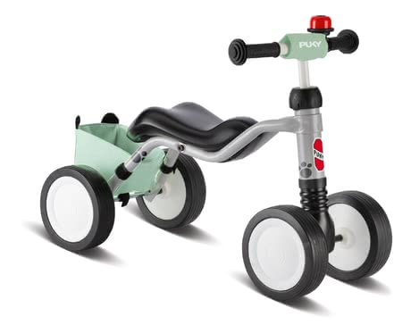 Puky Wutsch Bundle -  * The popular Puky Wutsch balance bike is now available in a bundle with a bell, handlebar pad and frame bag in a cute panda design.