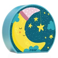 Reer night light MyBabyLight Moon -  * The MyBabyLight night light enchants the sleeping environment into a comfortable atmosphere and helps your child to fall asleep easily