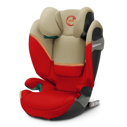 Cybex Gold Child Car Seat Solution S i-Fix -  * The new Cybex child safety seat Solution S i-Fix is approved according to the latest safety standard UN R129 / 03 and has therefore also passed the more stringent side impact test. The new colours it comes in have definitely something for every taste.