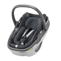 Maxi-Cosi Infant Car Seat Coral i-Size - The Maxi-Cosi Coral is the first modular baby car seat and consists of a fixed shell, the Safety Shell, and the light removable carrier, the Soft Carrier. This innovative design offers a fantastic double function and makes it easier for parents to be close to their tiny human at all times.