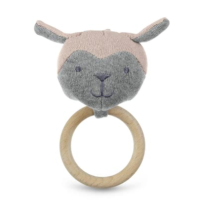 Sterntaler GOTS Knitted Toy Figure -  * The wooden clutching toy from Sterntaler's new GOTS collection stands out as the perfect toy for your little one..
