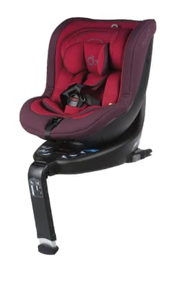 Be Cool Child Car Seat o3 lite - The Reboarder o3 lite is certified according to the i-Size safety regulation and transports newborns from 40 cm up to 105 cm safely in a rear-facing mode.