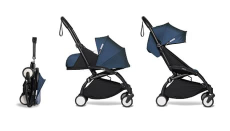 BABYZEN Buggy YOYO² incl. Textile set 0+ and 6+ air france blue_navy blue 2020 - large image