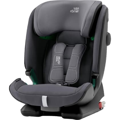 Britax Römer Child Car Seat Advansafix i-Size -  * Now even better! Based on the award-winning Advansafix IV R, the new Britax Römer Advansafix i-Size scores with the approval according to the new i-Size regulation, extended use of the 5-point belt up to 21 kg and the XP-PAD.