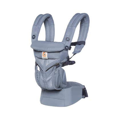 Ergobaby Baby Carrier Omni 360 Air Mesh -  * The Ergobaby Omni 360 Air Mesh accompanies you and your baby right from birth up to toddlerhood. Thanks to the breathable mesh fabric, the baby carrier feels pleasantly cool for both of you.