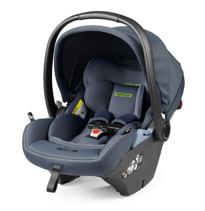 Peg Perego Infant Car Ceat Primo Viaggio Lounge i-Size -  * The adjustable backrest does not only ensure a relaxing position, but also the healthiest way to transport your little one in the baby car seat. The Comfort Recline function is perfect for offering your child multiple positions – from sitting, to leaning back slightly, to lying down.