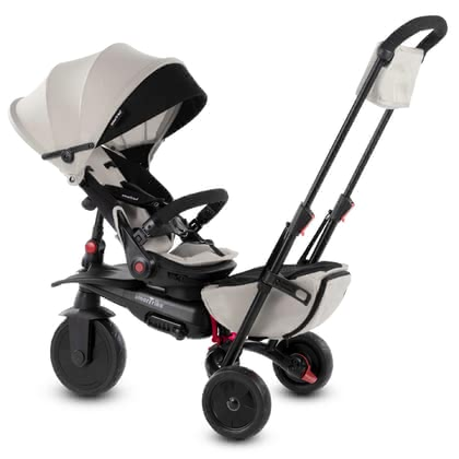 smarTrike Foldable Tricycle smarTfold 700S - The new foldable 8 in 1 smarTfold 700S from the S Range is now certified according to the stroller standard.
