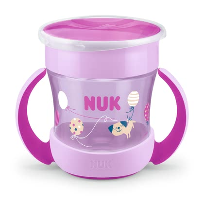 NUK EVOLUTION Mini Magic Cup -  * The NUK Mini Magic Cup lets even the youngest kids drink like the big kids. The 360° drinking rim encourages your child to practise drinking all the way round – almost like a normal cup.