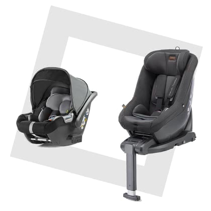 Inglesina Modular System DARWIN i-Size -  * A smart security concept – the Inglesina DARWIN i-Size modular system. With just one base, your little one rides safely in your car right from birth and switching to the successor car seat later on, is done easily.