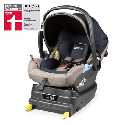 Peg-Perego Infant Car Seat Primo Viaggio Lounge including i-Size Base -  * The Peg Perego Set Primo Viaggio Lounge including i-Size base provides your little passenger with a backrest that can be adjusted to a comfy lying position thanks to the Comfort Recline function.