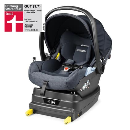Peg Perego Infant Car Seat Primo Viaggio Lounge including i-Size Base Luxe Mirage 2020 - large image