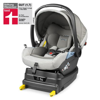 Peg Perego Infant Car Seat Primo Viaggio Lounge including i-Size Base Luxe Pure 2020 - large image