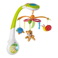 Chicco Mobile Magic Forest -  * The colourful electronic mobile takes your baby into the amazing world of Chicco's magical forest. Depending on your wishes, the three functions of the Chicco Mobile Magic Forest can be selected individually or in combination.