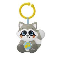 Chicco Night Light and Music Box Cloudy the Raccoon -  * Cloudy the raccoon is not only a great night light, but also a great toy for a relaxed ride in the stroller. Thanks to the C-ring, the charming Chicco music box can be attached to almost everything – that way, you can always take it with you.