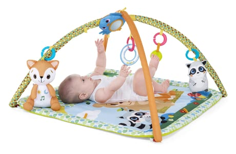 "Chicco Play Arch ""Magic Forest"" -  * With its versatility, the Chicco play arch will delight both parents and babies alike. The soft-padded play mat feels super comfy and keeps away the cold of the floor from your child."
