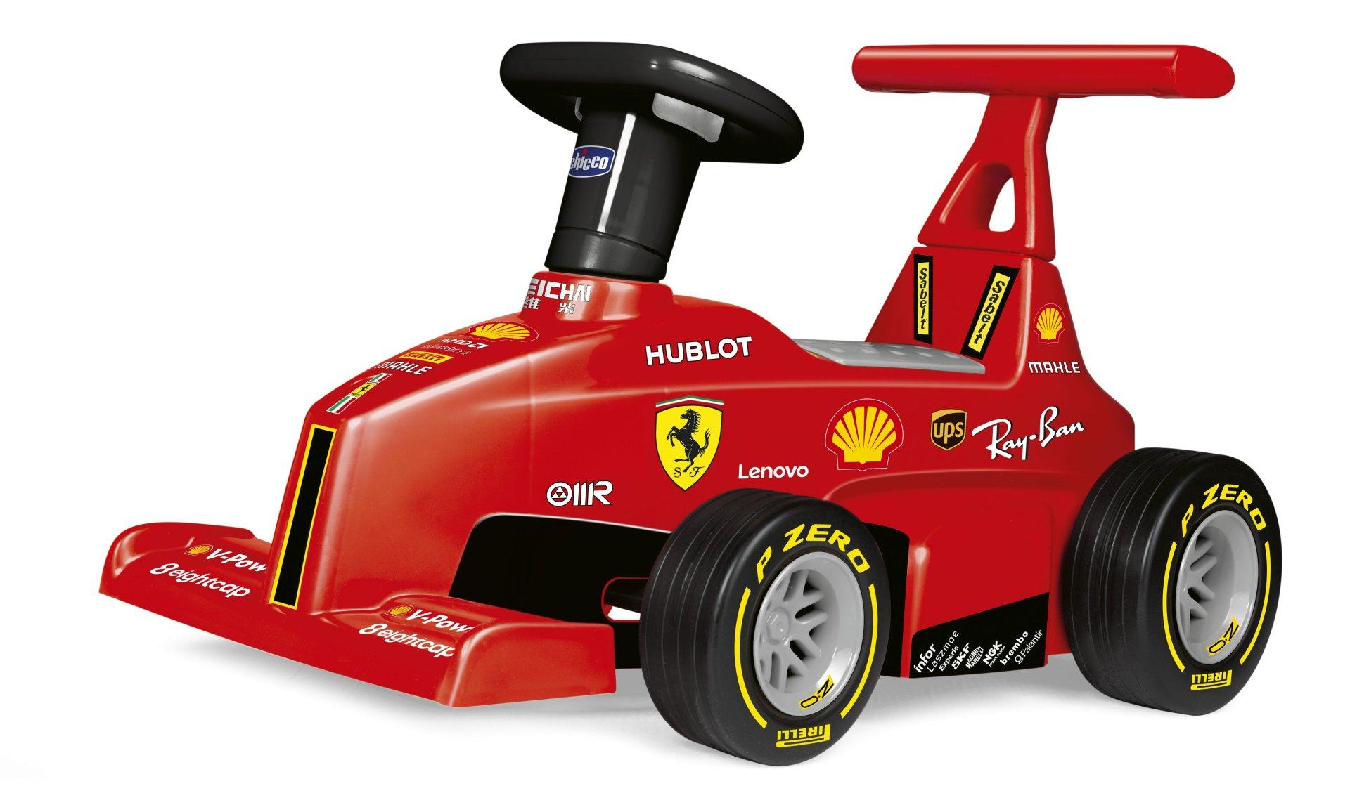 Chicco Ferrari F1 Ride On 2 In 1 Rutscher Und Lauflernhilfe Kidsroom De