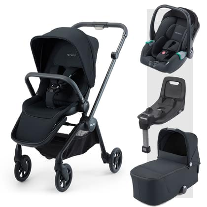 Recaro Sadena 3-in-1 Travel-System inkl. ISOFIX-Basis - From day one, the perfect companion for every situation in your life!