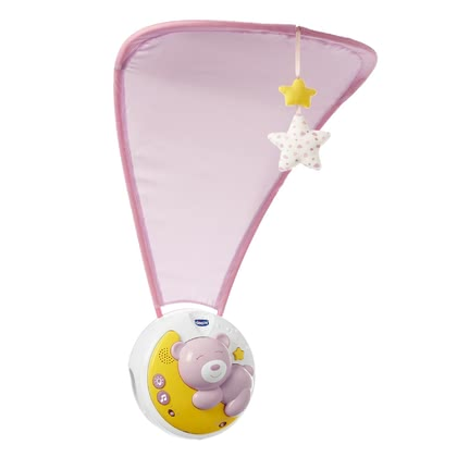 Chicco Next2Moon Mobile with Night Light Projector -  * The innovative Chicco Next2Moon mobile with projector adds a magical atmosphere to every nursery. It combines different lullabies with a gentle projection.
