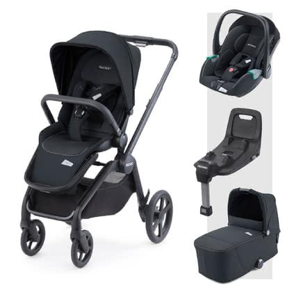 Recaro Celona 3-in-1 Travel System including ISOFIX Base -  * The perfect companion for every situation right from the very first day! The Recaro Celona 3-in-1 travel system comes with a seat unit, carrycot and the Avan infant car seat.