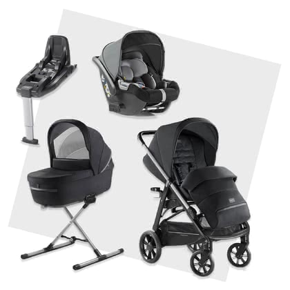 Inglesina Aptica System Quattro DARWIN i-Size Bundle including Base -  * The unmistakable glam style will attract all trend-conscious and modern parents. The Aptica is not only a sporty companion, it scores with convenient handling and a lot of comfort for your little one.